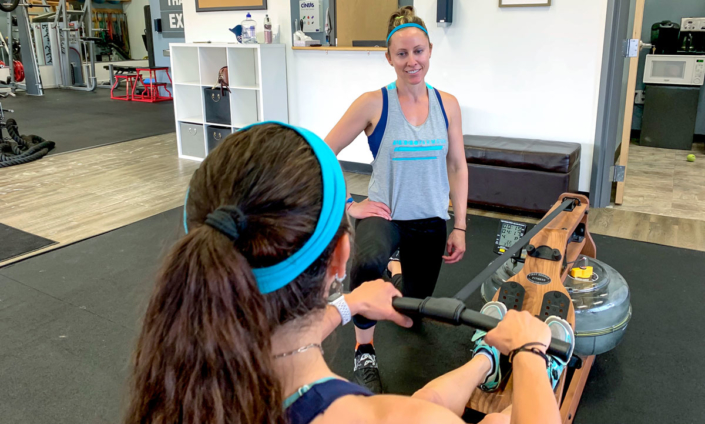 The row machine is great for exercise for many reasons.